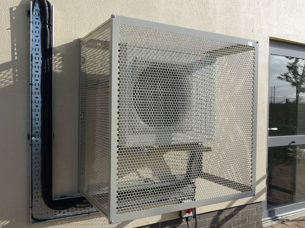 Air Conditioning Condensing Unit Medium Protective Cage CG-M